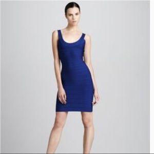 HERVE LEGER Signature Scoop Bandage Dress
